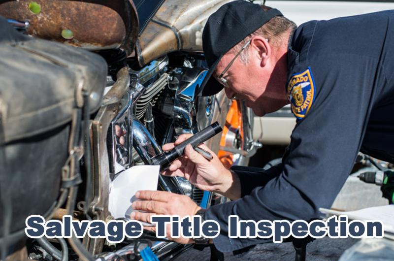 Salvage Title Inspection