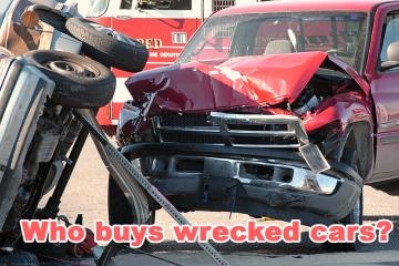 Who buys wrecked cars?