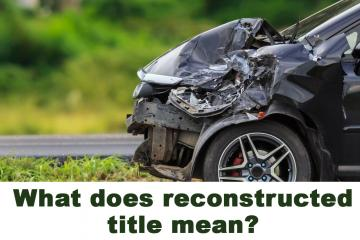 What does reconstructed title mean?
