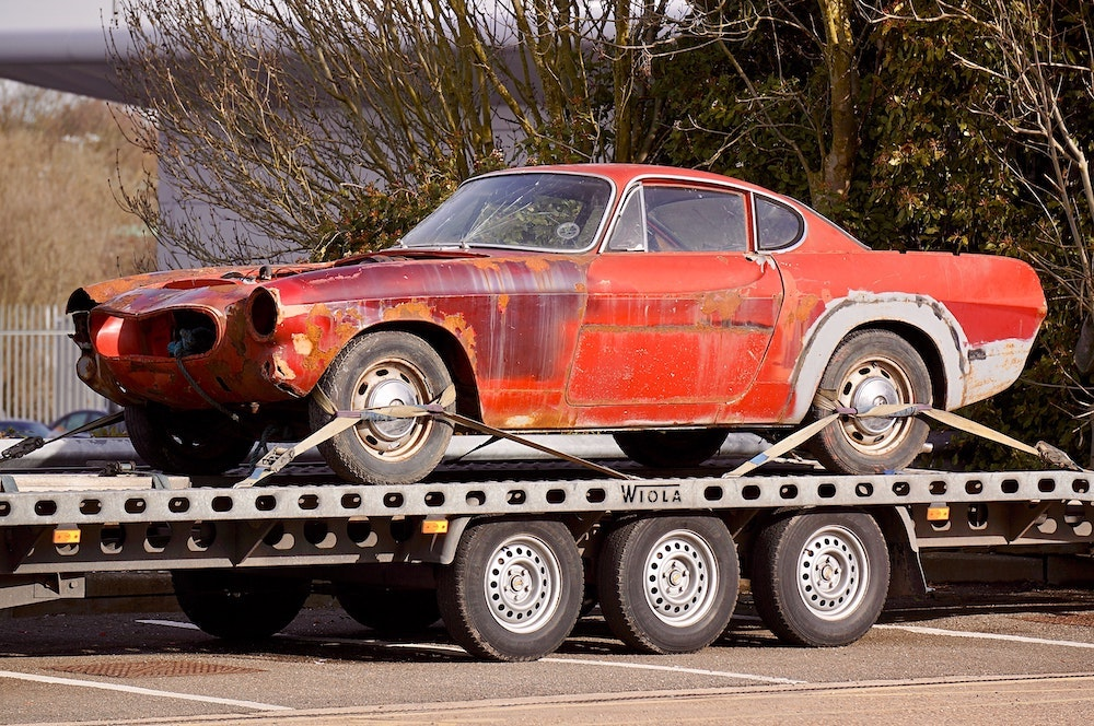 Can a salvaged car have new life?